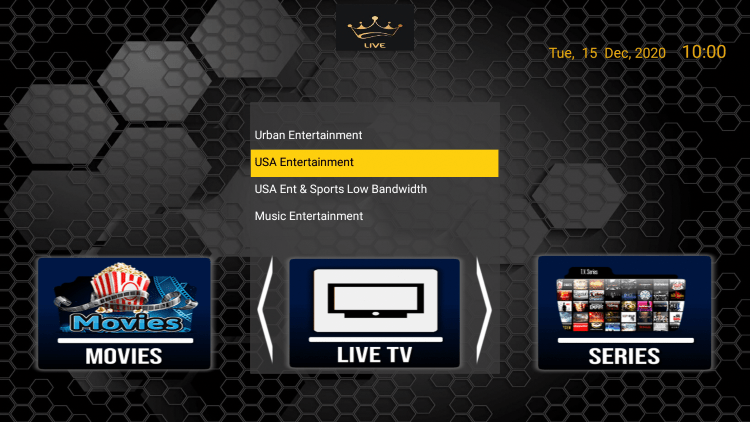 dynasty tv iptv channels