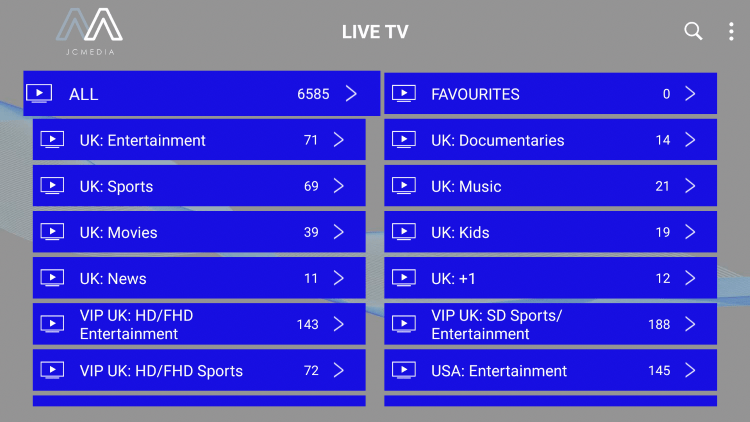 As mentioned previously, Sportz TV provides over 6,000 live channels starting at $9.95/month with their standard plan.