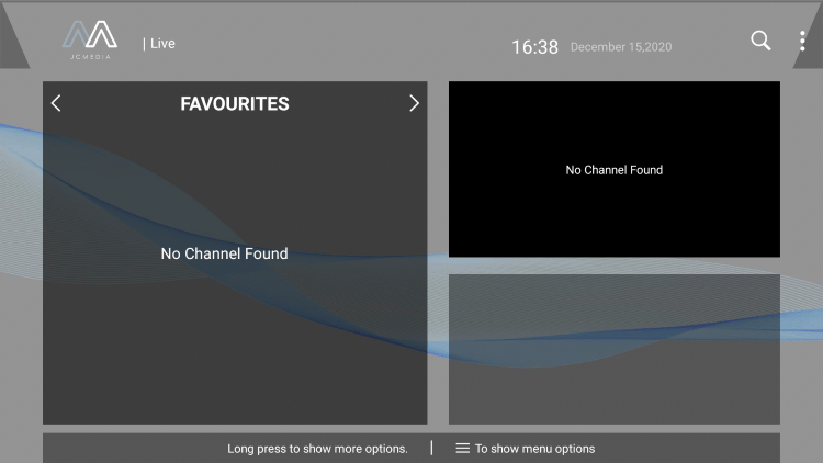 That's it! You can now add/remove channels from Favorites within sportz tv iptv