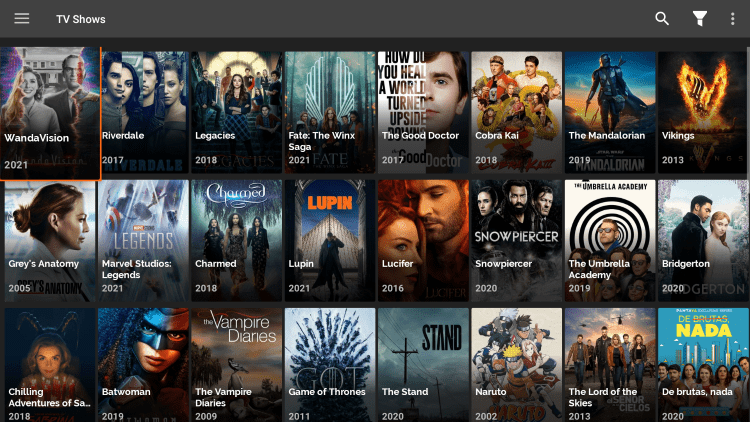 There are also several VOD options within freeflix hq apk