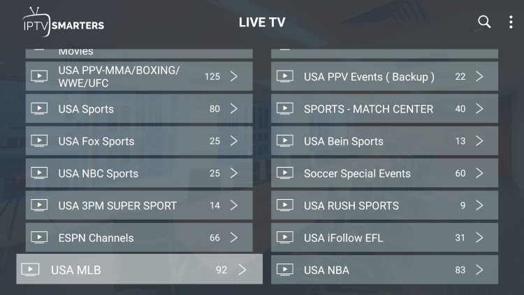Every subscription plan comes with over 15,000 live channels and VOD options.