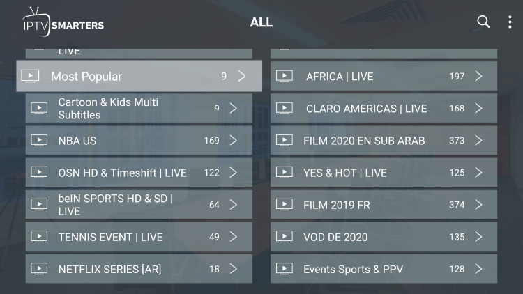 Every king iptv subscription comes with over 12,000 live channels and VOD options.