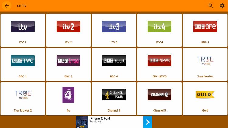 kraken tv channels