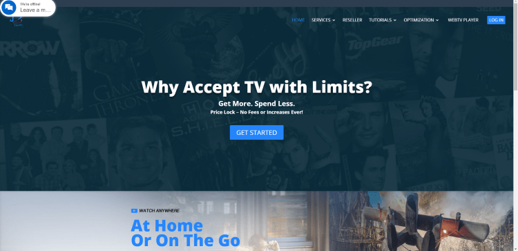 Visit the nvision tv iptv official website
