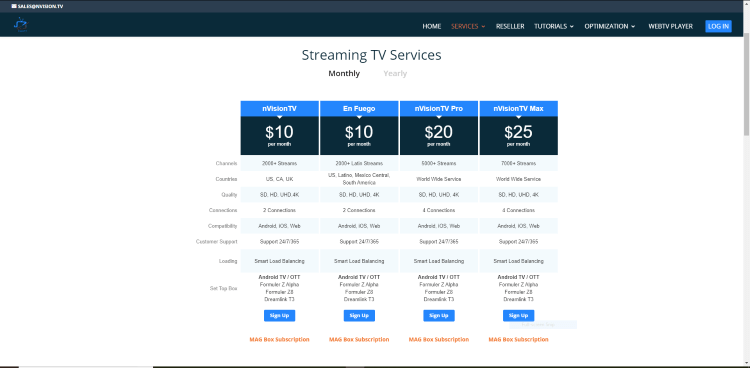 Choose whichever subscription plan you prefer. For this example, we chose the first plan for $10/month.