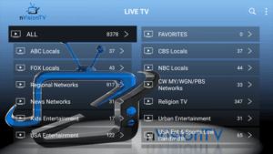 nvision tv iptv channels
