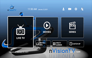 nvision tv iptv