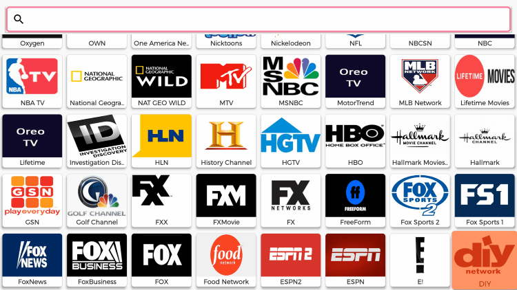 As mentioned previously, Oreo TV offers thousands of live channels that are 100% free to stream on any device.