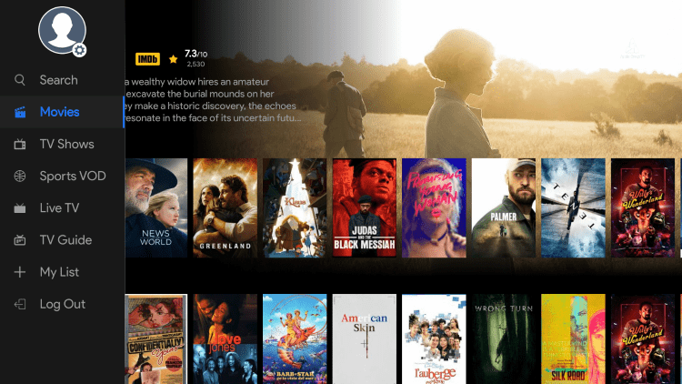 Every subscription plan comes with over 1,000 live channels and several VOD options.