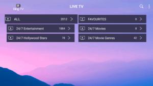 bing tv channels