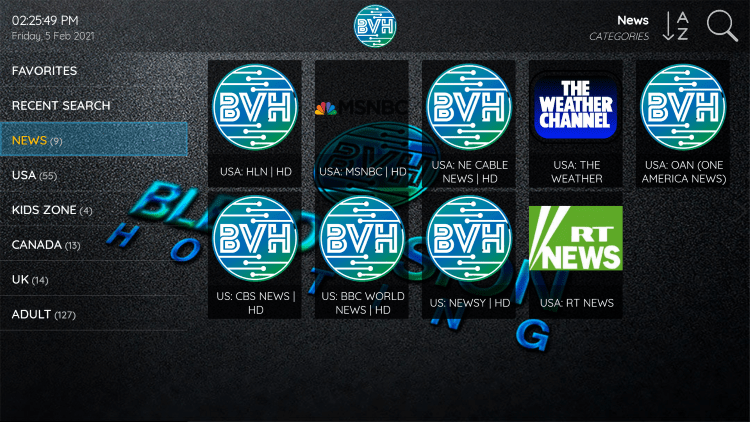 Blerd Vision IPTV provides over 4,000 live channels starting at $5/month with their standard plan.