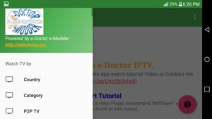 edoctor iptv app settings