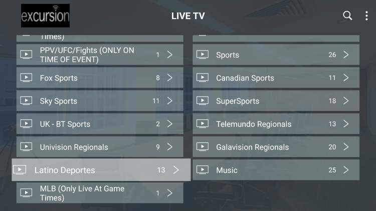 Every subscription comes with over 700 live channels with many in HD quality.