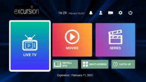 excursion tv