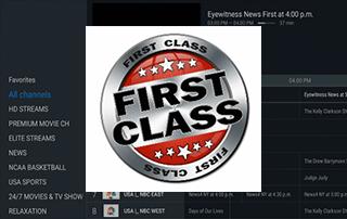 first class iptv