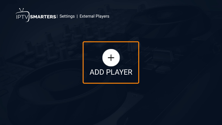 Click Add Player.