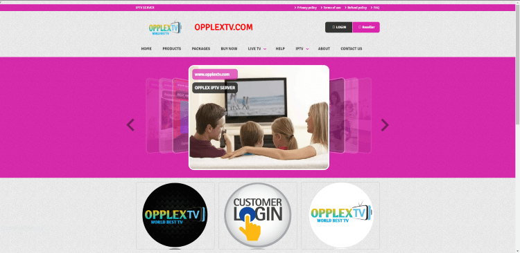 Prior to using the OpplexTV IPTV service, you will need to register for an account on their official website.
