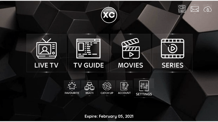 In the example below, we show how to integrate an external player within Phantom IPTV.