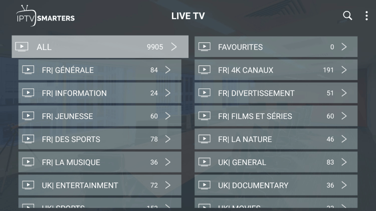 ResleekTV provides over 10,000 live channels starting for under $17/month with their standard plan.