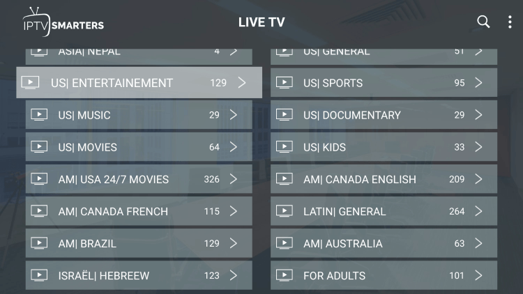 Every resleektv subscription plan comes with over 10,000 live channels and VOD options.