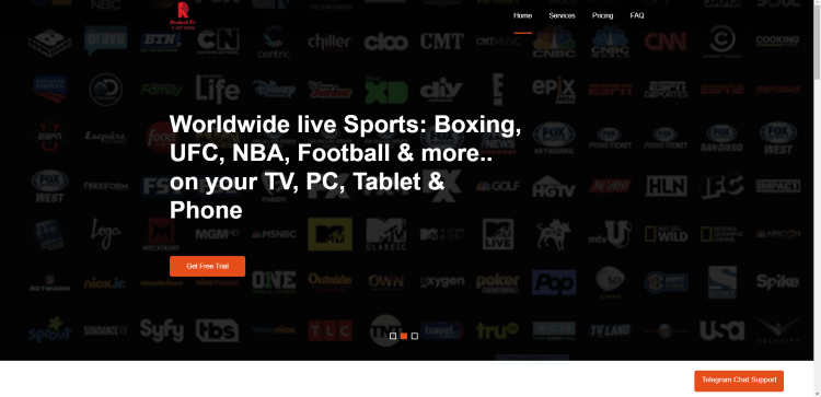Prior to using the ResleekTV IPTV service, you will need to register for an account on their official website.