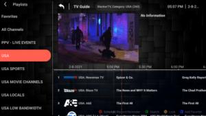 slacker tv channels