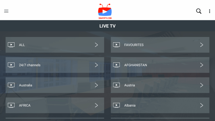 As mentioned previously, Snap IPTV provides over 10,000 live channels starting for $11.00 per month with their standard subscription.