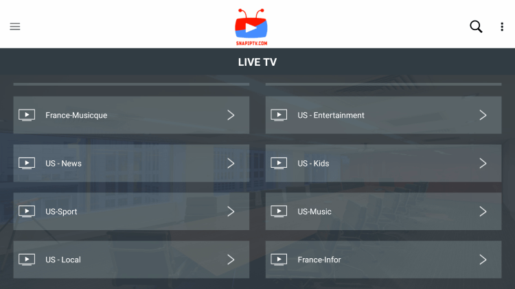 Every IPTV subscription comes with over 10,000 live channels with many VOD options.