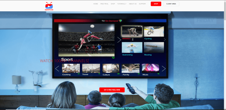 Prior to using the Snap IPTV service, you will need to register for an account on their official website.