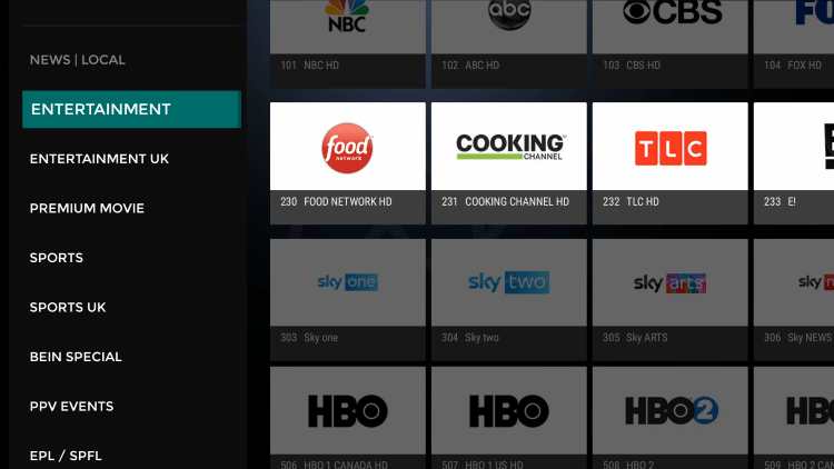 Unicorn Inc IPTV provides over 3,000 live channels starting for $15.00 per month with their standard subscription.