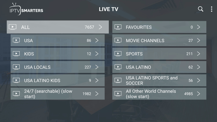 Vewhub provides over 7,000 live channels starting for $19.99/month with their standard plan.