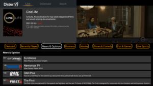 distrotv live tv