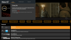 distrotv channels