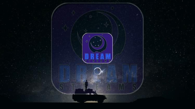Launch the Dream IPTV app.