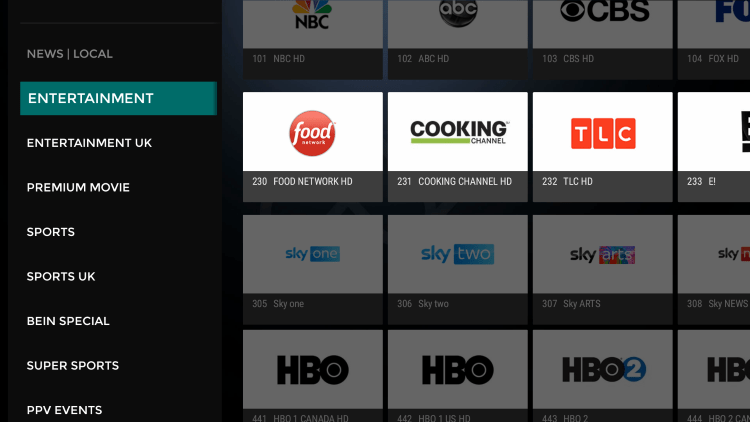 Every IPTV subscription comes with over 4,000 live channels with many VOD options.