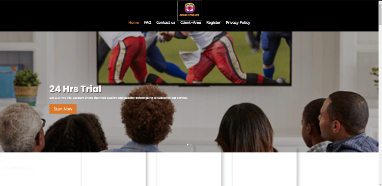 Prior to using the Gemini Streamz IPTV service, you will need to register for an account on their official website.