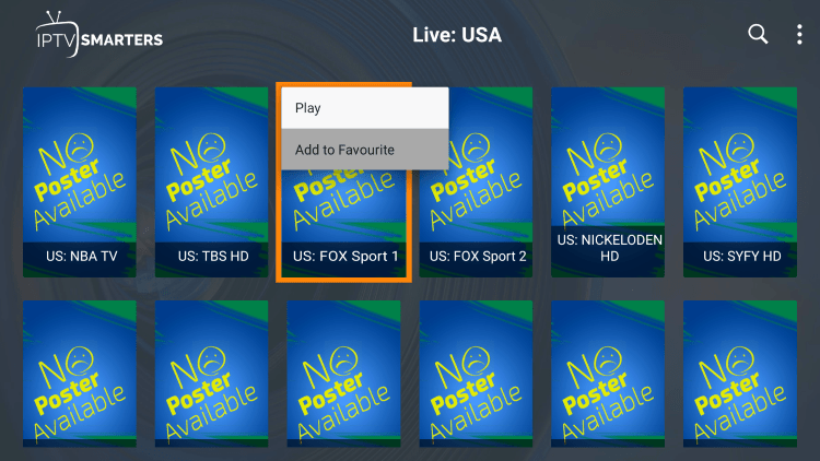 One of the best features within the HomePlex IPTV service is the ability to add channels to Favorites.