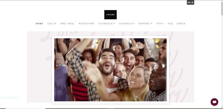 limitless iptv official website