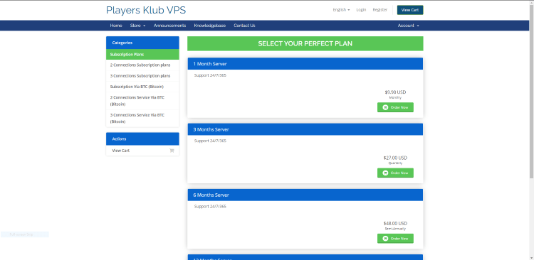 Locate your preferred plan again and click Order Now.
