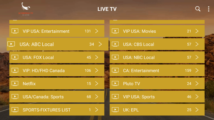 Every IPTV subscription comes with over 6,000 live channels with most in HD quality.