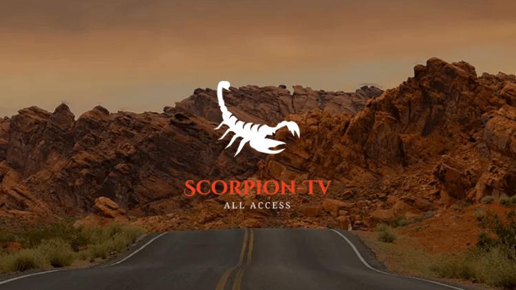 scorpion tv iptv service