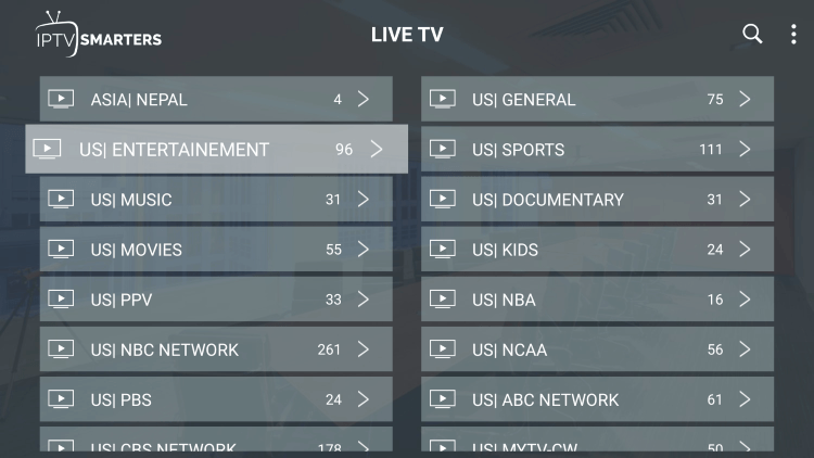Every subscription plan comes with over 11,000 live channels and VOD options.