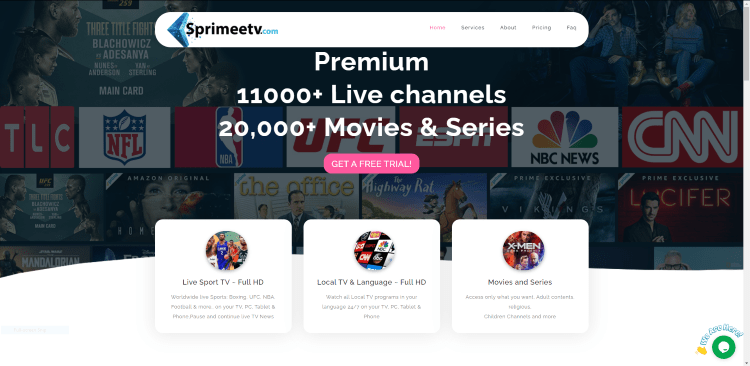 Prior to using the SprimeeTV IPTV service, you will need to register for an account on their official website.