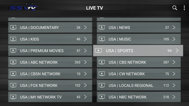Every IPTV subscription comes with over 8,000 live channels with many VOD options.