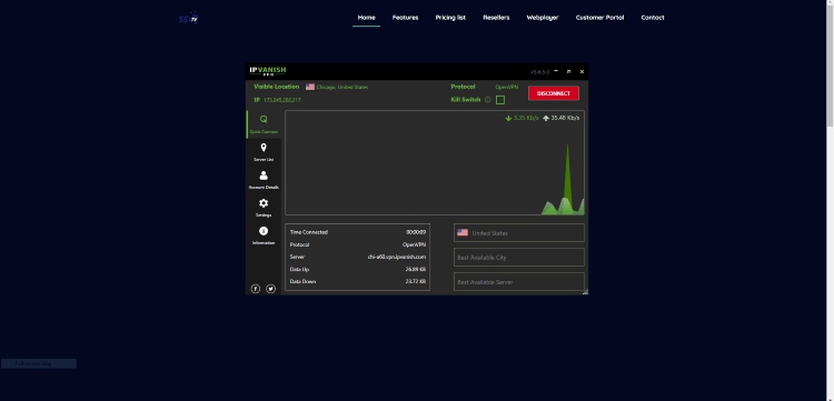 We suggest using a VPN when registering for IPTV services, as their servers may be insecure.