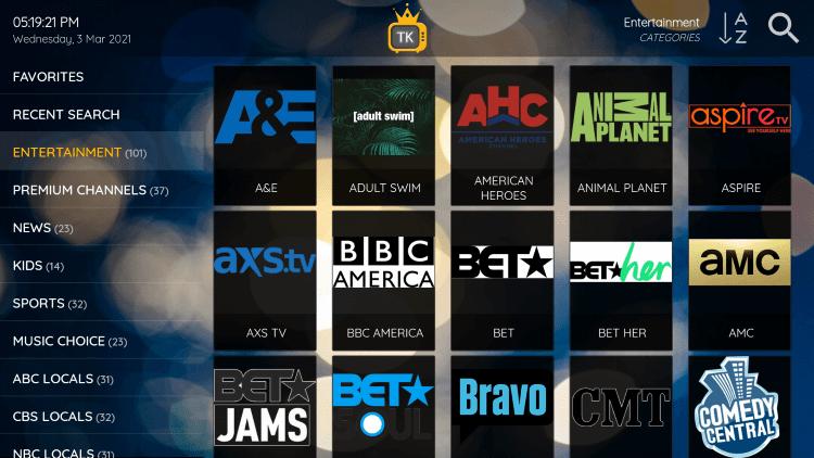 tv kings channels