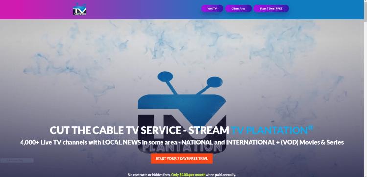tv plantation iptv