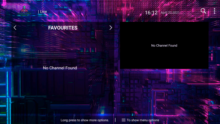 That's it! You can now add/remove channels from Favorites within atomic hosting iptv
