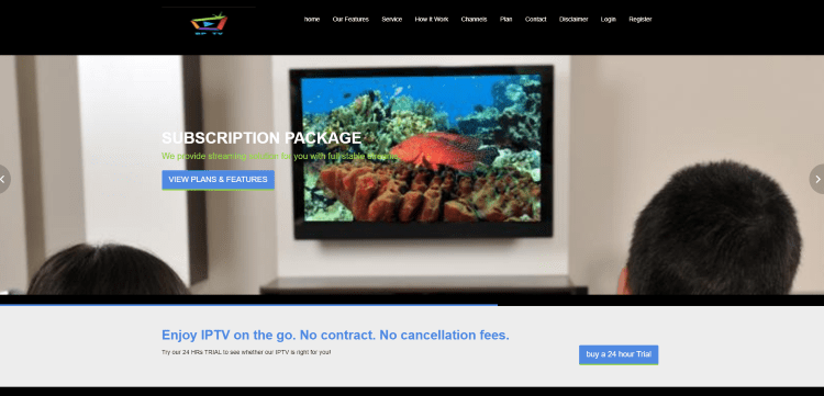 rior to using the BP TV IPTV service, you will need to register for an account on their official website.