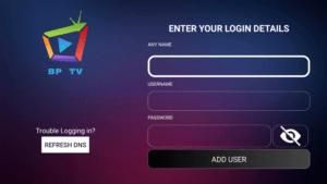bp tv iptv service